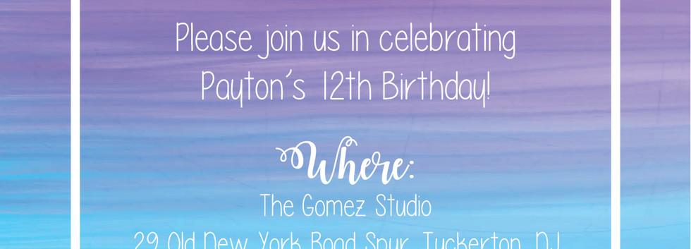 PARTY INVITATION | PRINT