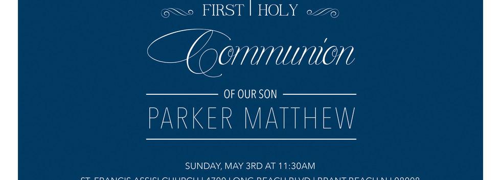 1ST COMMUNION | INVITATION