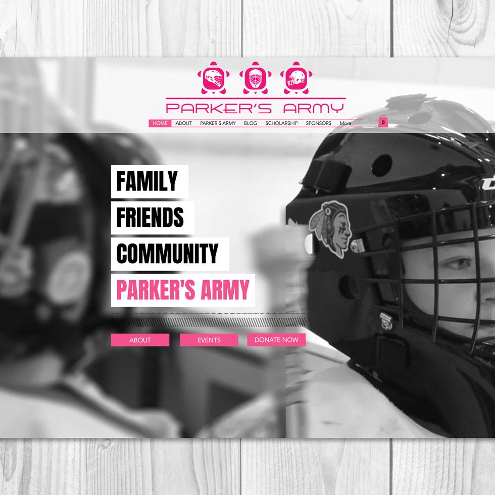 PARKER'S ARMY | COMPANY WEBSITE
