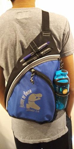 Bolso de Espalda para Hombre color Azul con Accesorios