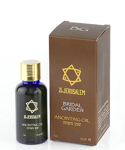 Bridal Garden Oil / Aceite Jardín de la Novia 1 oz Bot. Cristal Azul