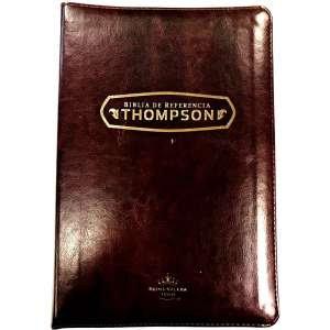 Biblia Thompson Ref Café Dorado Ind Cierre