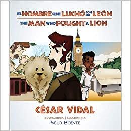 El hombre que luchó con un león (Bilingual Edition) (Inglés) Tapa blanda