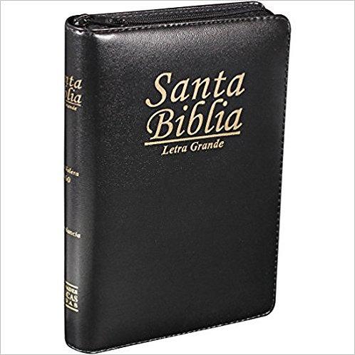 Biblia Letra Grande Tam. Manual, Indice, Zipper
