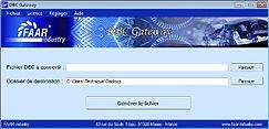 FAAR Industry FAAR DBC Gateway, DBC files converter, DBC Matlab converter, DBC Gateway .m, CAN gateway matlab