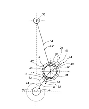 FAAR Industry Patent  Eccentric adjustment body for adjusting compression ratio of variable compression ratio internal combustion engine, has flange equipped with notches which are arranged in circle, where notches cooperate with presence detection sensor
