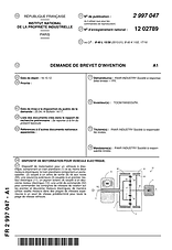 FAAR Industry Device Motorizing Vehicle Patent