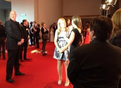 Elizabeth Rossi, 2013 Oscars, Hollywood CA