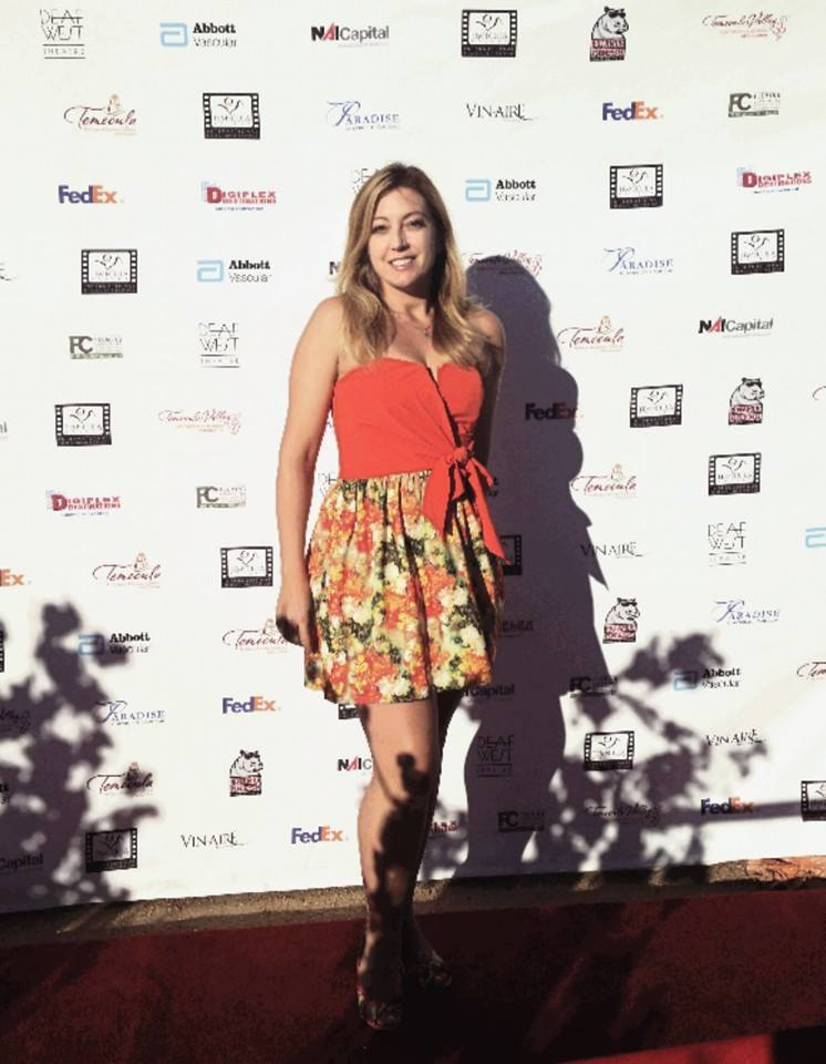 Elizabeth Rossi, Temecula International Film Festival, 2016
