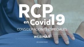 RCP en Covid-19, consideraciones especiales