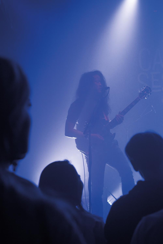 Tran, Gitarrist bei Woman - Foto: Franziska Schardt