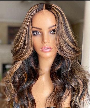 Gina- body wave custom wig #4/27 5x5 lace closure Starts at $185