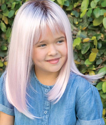 Miley Miley Kids Lace Front & Monofilament Top Synthetic Wig