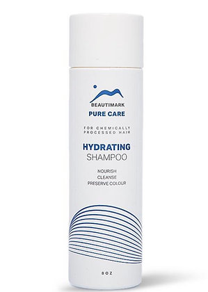 Pure Care Hydrating Shampoo for Human Hair 8oz