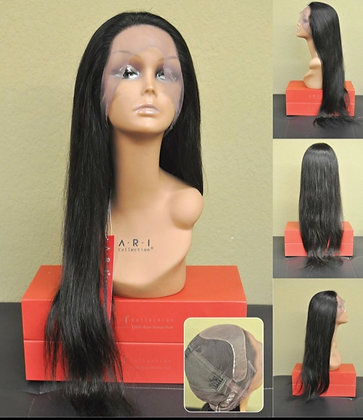 Whole Lace 100% Hand Tied Wig (silk base)9003s