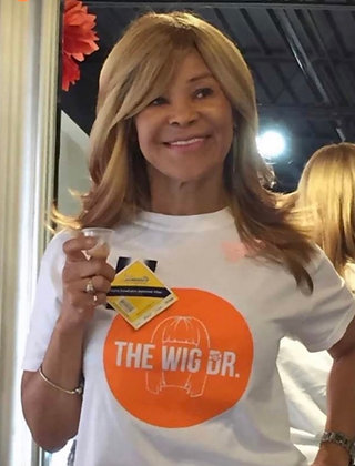 Wig Dr  Logo T-Shirt White
