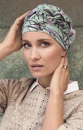 Azure Printed Turban