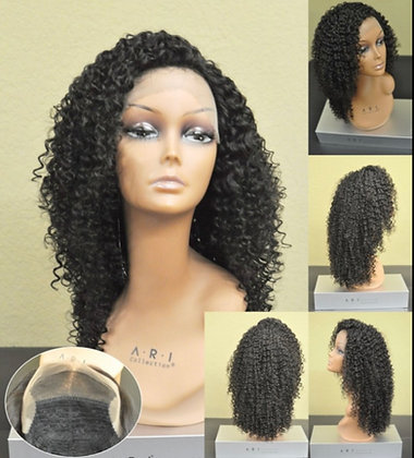 Lace Front Human Hair(ear to ear free part) 7019T
