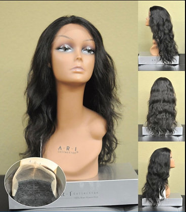 Lace Front Human Hair- ear to ear free part 7011T