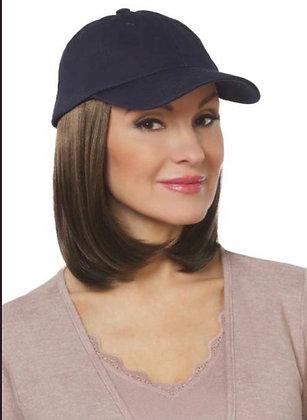 Classic Hat with medium hair  (NAVY)