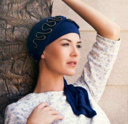 Mudita long scarf 95% bamboo 5% Spandex Blue is the only color