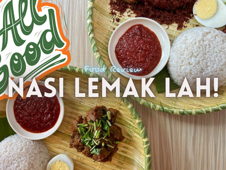 Jom EAT! | Nasi Lemak Lah!