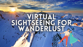 Virtual Sightseeing Tours for Wanderlust