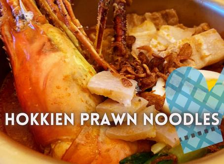 Masak-Masak // Hokkien Prawn Noodles with Fresh Water Prawns