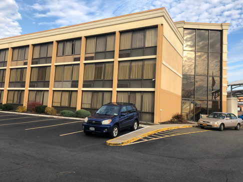 Holiday Inn Exterior Hotel Renovation Before