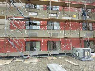 Exterior Hotel Renovation | Brand Conversion - During