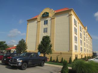 La Quinta Exterior Hotel Renovation Before