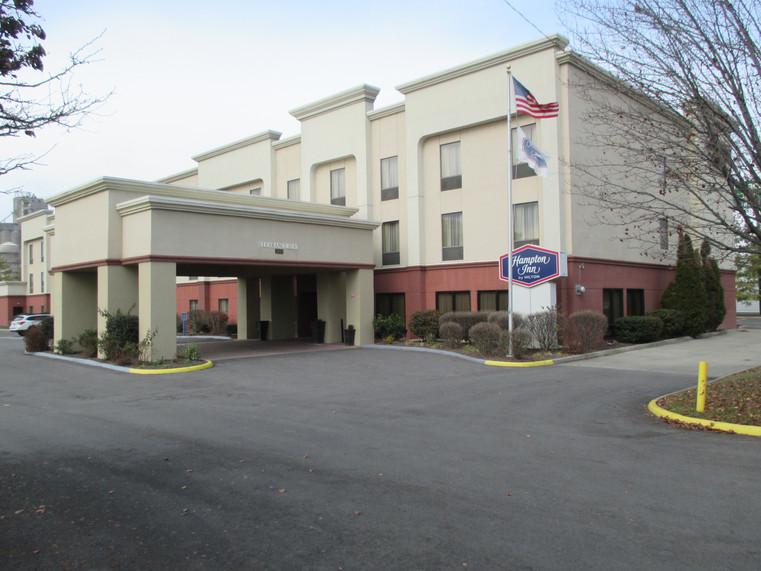Hampton Inn Exterior Hotel Renovation Before