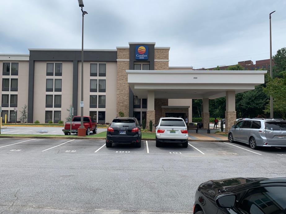Comfort Inn Exterior Hotel Renovation Conversion After