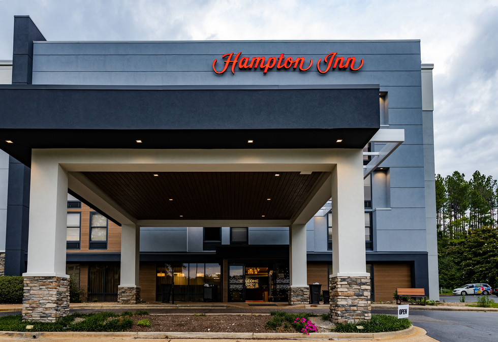 Hampton Inn Renovation After