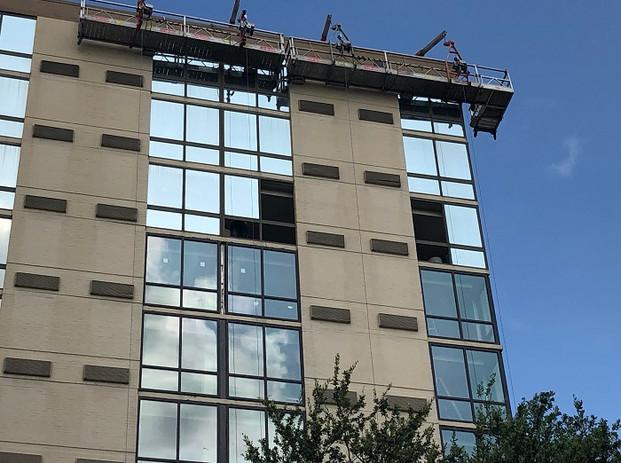 Marriott Hotel Window Replacement During