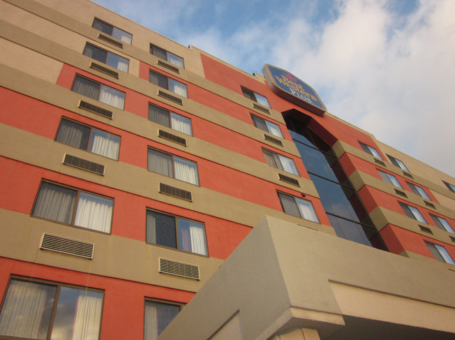 Exterior Hotel Renovation | Brand Conversion - Before