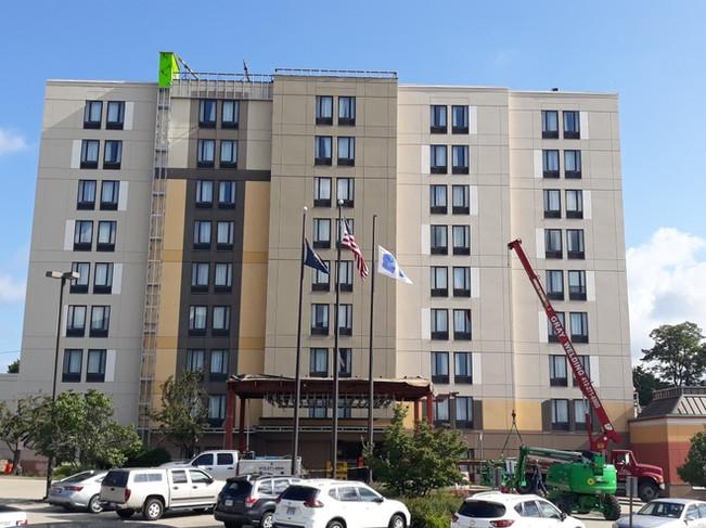 Hampton Inn Monroeville Before Hotel Renovation
