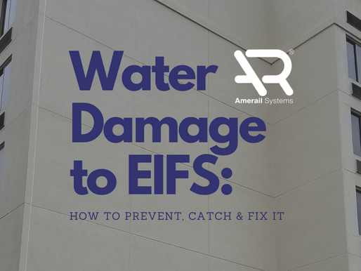 Water Damage to EIFS: How to Prevent, Catch & Fix it