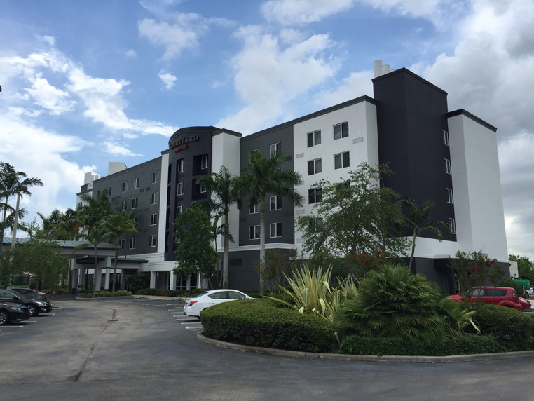Courtyard by Marriott Exterior Hotel Renovation After