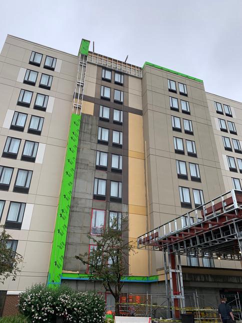 Hampton Inn Monroeville During Hotel Renovation