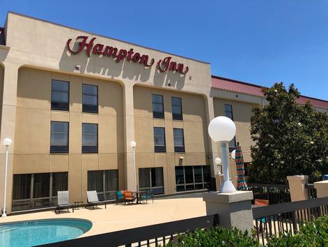 Hampton Inn Before Hotel Renovation