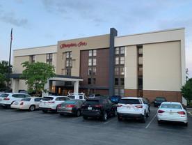 Hampton Inn Exterior Hotel Renovation After