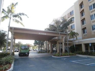 Courtyard by Marriott Exterior Hotel Renovation Before