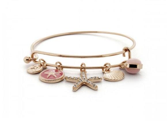 under the sea pink bracelet