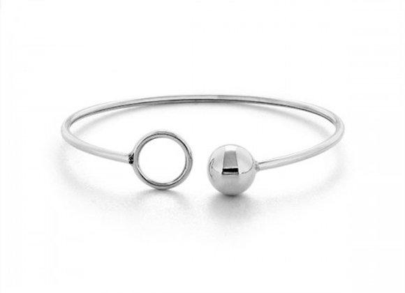 O ball silver bracelet