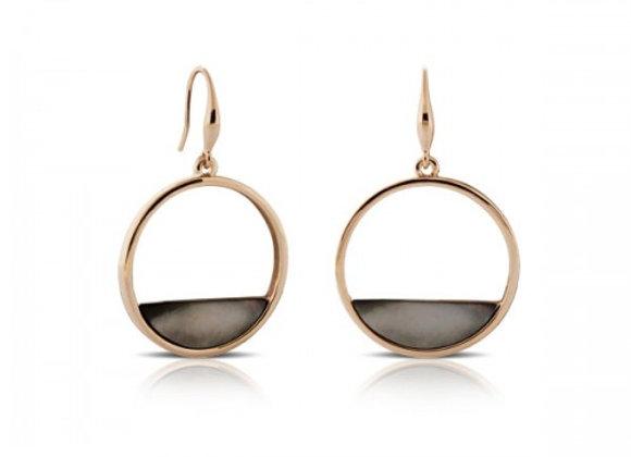 Edo Mother Of Pearl Earrings earrings