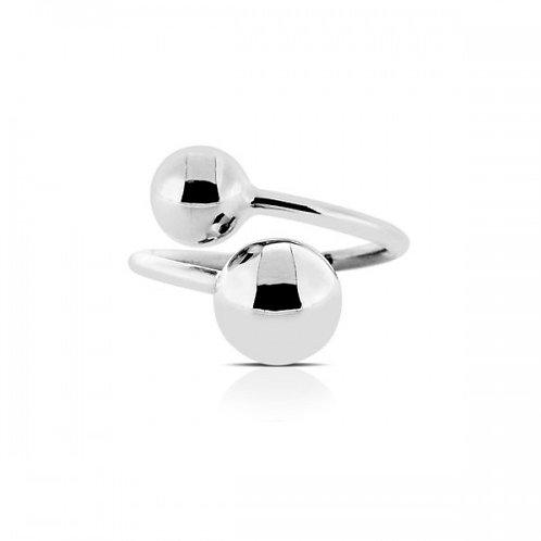 cherry zilveren ring