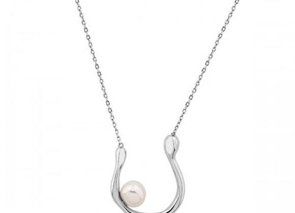 pearl bay silver necklace