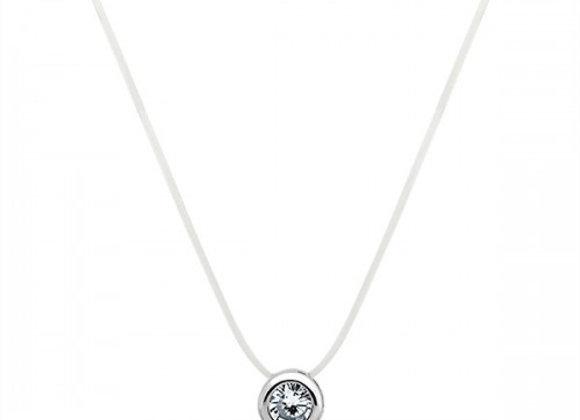 friendship silver necklace