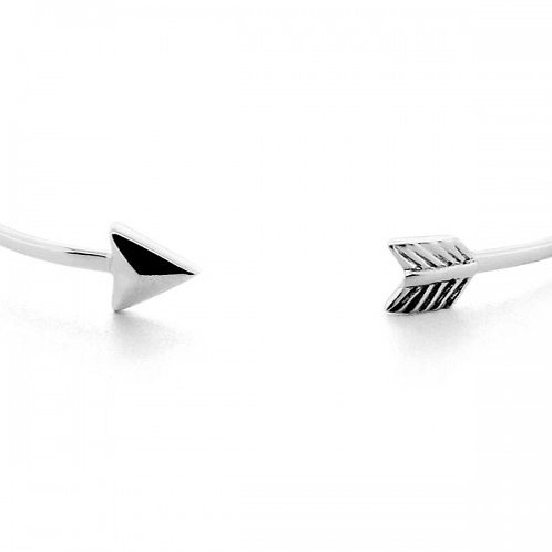 arrow zilveren armband